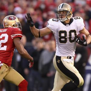 Jimmy Graham can line up all over the field and attack any part of the defense.